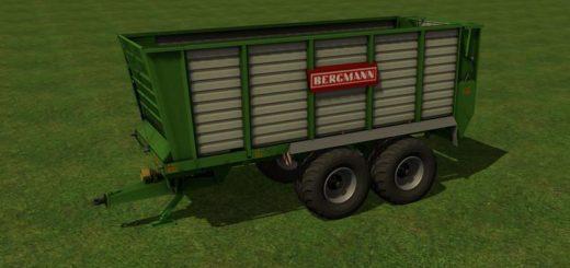 Мод прицеп FS17 BERGMANN HTW 35 V1.0 Farming Simualator 17