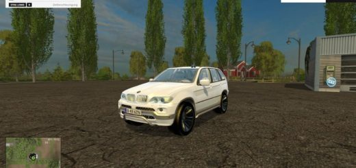 Мод авто FS17 BMWX5 15 Special vehicle V 2 Farming Simulator 17