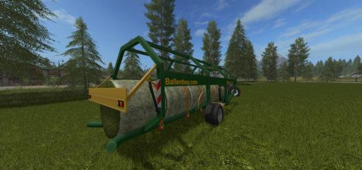 Мод прицеп FS17 Ballenboy V 1.0 Farming Simulator 17