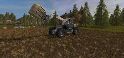 Мод погрузчик FS17 Bobcat TL 470 V 1 Farming Simulator 2017