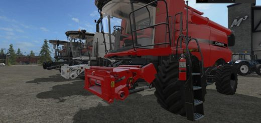 Мод ПАК FS17 CASEIH COMBINE AND CUTTER PACK BY STEVIE Farming Simulator 17