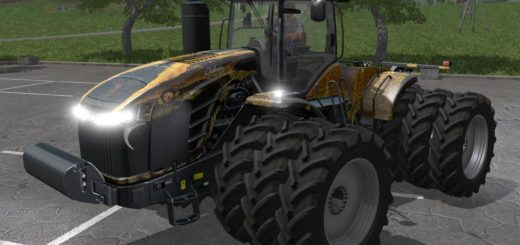 Мод трактор FS17 CHALLENGER MT900E FIELD ANACONDA V1 Farming Simualator 17