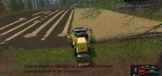 Мод компас FS17 COMPASS V2.0.0 Farming Simulator 17