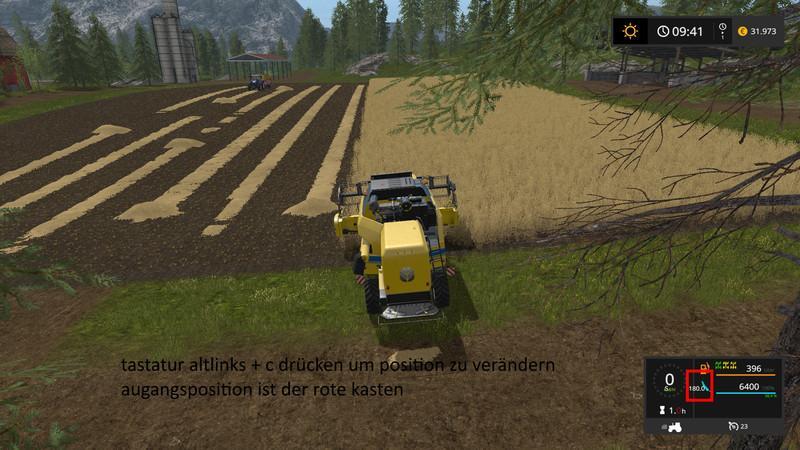 скачать мод компас для farming simulator 2017