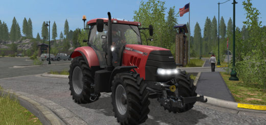 Мод трактор Case IH PUMA 160 v 1.0 Farming Simulator 2017