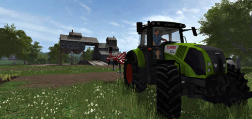 Мод трактор FS17 Claas Axion 820 V 1.0 Farming Simulator 17