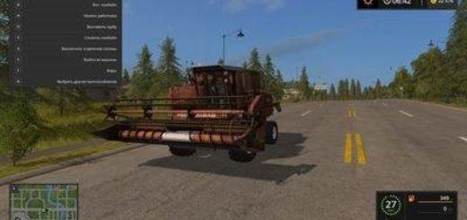 Мод комбайн FS17 DON 1500 Farming Simulator 2017