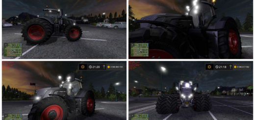 Мод FS17 FENDT 900 BLACK BEAUTY V1.0 Farming Simulator 17