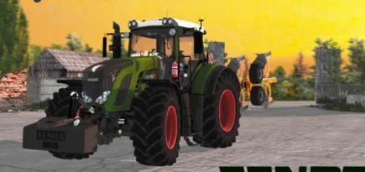 Мод трактор FS17 FENDT 927 VARIO Farming Simulator 17