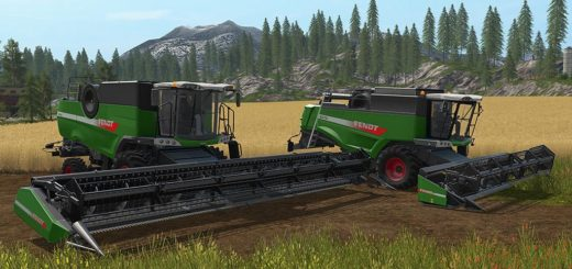 Мод FS17 FENDT HARVESTER PACK V1.0 Farming Simualtor 17