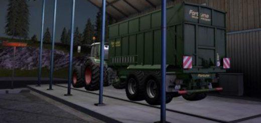 Мод прицеп FS17 FORTUNA FTM 200/6.0 Farming Simulator 17