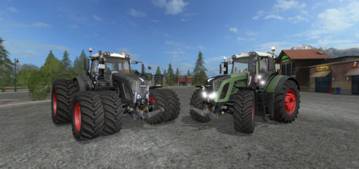 Мод трактор FS17 Fendt 936 Vario V 1.1 Farming Simulator 17