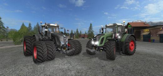 Мод трактор FS17 Fendt 936 Vario V 1.0 Beta Farming Simulator 2017