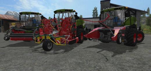 Мод комбайн FS17 Fendt Katana Pack V 1 Farming Simulator 2017