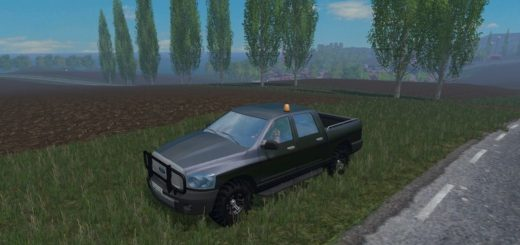 Мод авто FS17 Ford pickup V 1.2 Farming Simulator 17