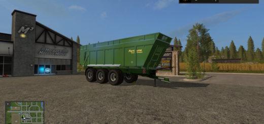 Мод прицеп FS17 Fortuna FTM300 V 1.0 Farming Simulator 17