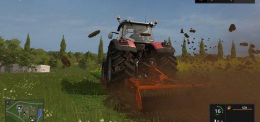 Мод культиватор FS17 Frame Subsoiler Chisel Los Antonios V 1.0 Farming Simulator 2017