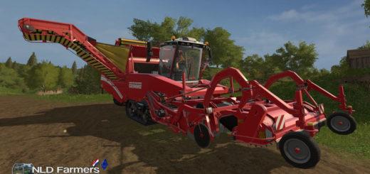 Мод комбайн FS17 Grimme Tectron 415 V 1.0 Farming Simulator 17