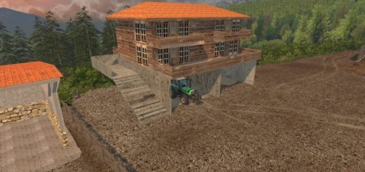 Мод дом FS17 House V 0.1 Farming Simulator 17