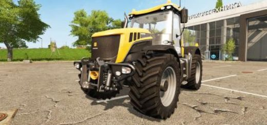 Мод трактор FS17 JCB FASTRAC 3200 XTRA Farming Simulator 2017