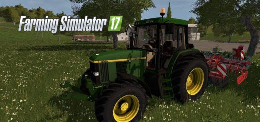 Мод трактор FS17 JOHN DEERE 6810 Farming Simulator 17
