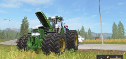 Мод трактор FS17 JOHN DEERE 7810 FULL EDITION Farming Simulator 2017