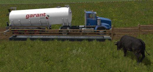 Мод бочка FS17 KOTTE GARANT WATER 30000 V1.0 Farming Simulator 17