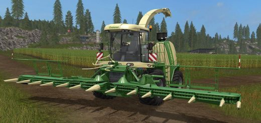 Мод комбайн FS17 KRONE BIG X 1100 PACK V1.0 Farming Simulator 17