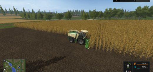 Мод комбайн FS17 Krone Big X 580 with bunker V 1.0 Farming Simulator 2017