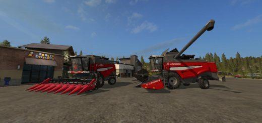 Мод комбайн FS17 LAVERDA M300/M310MCS V2.0 Farming Simulator 2017