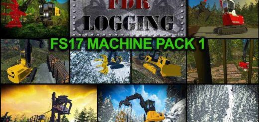 Мод ПАК FS17 MACHINE MOD PACK V1 Farming Simulator 2017
