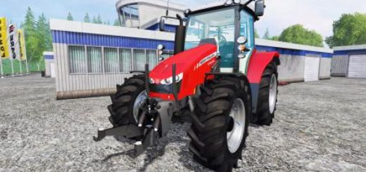 Мод трактор FS17 MASSEY FERGUSON 5710 FL Farming Simulator 2017