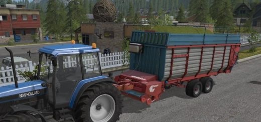 Мод прицеп FS17 MENGELE GARANT 540/2 V1.0 Farming Simulator 17
