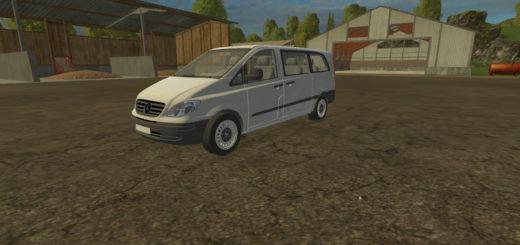 Мод авто FS17 Mercedes Benz Vito 2005 V 1 Farming Simulator 2017
