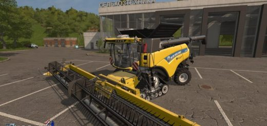Мод комбайн FS17 New Holland CR10.90 Combine Pack. V 1.0 Farming Simulator 17