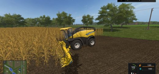 Мод комбайн FS17 New Holland FR850 with Bunker V 1.0 Farming Simulator 2017
