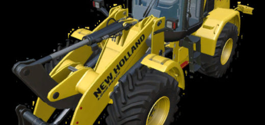 Мод погрузчик FS17 New Holland W170C V 2.0 Farming Simulator 17