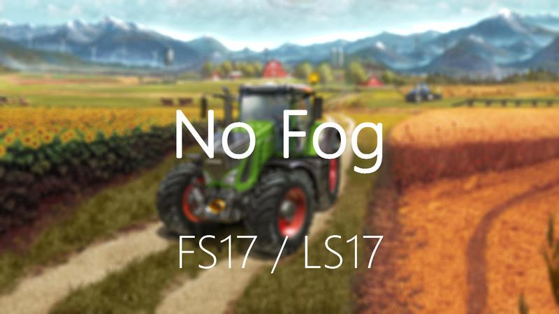 Мод нет тумана FS17 No fog V 2.1.1 Farming Simulator 2017