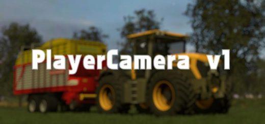 Мод FS17 PLAYER CAMERA Farming Simulator 17