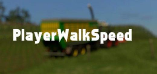 Мод скрипт FS17 PLAYER WALK SPEED V1.0 Farming Simulator 17