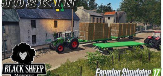 Мод прицепы FS17 Pack Joskin Wago BaleTrailer V 1.0 Farming Simulator 2017