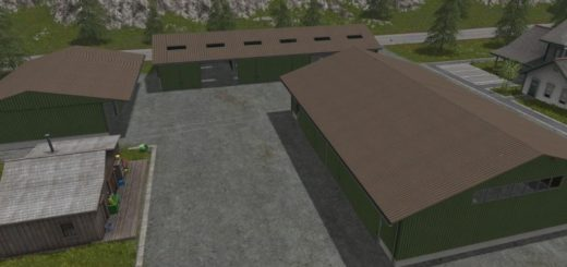 Мод FS17 SHED PACKAGE V1.0 Farming Simulator 17