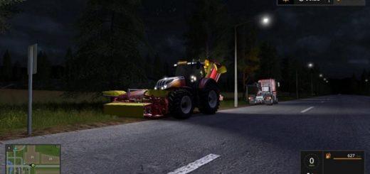 Мод трактор FS17 STEYR CVT TERRUS V1.0 Farming Simualtor 17