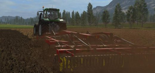 Мод сеялка FS17 VADERSTAD TOP DOWN 500 V1.0 Farming Simulator 17