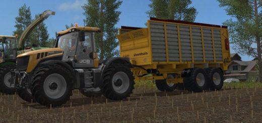 Мод прицеп FS17 VEENHUIS W400 V1.0 Farming Simulator 17