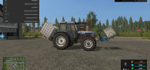 Мод FS17 adaptor frame implement frontloader V 1.0 Farming Simulator 17