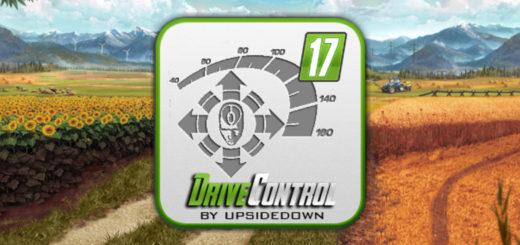 Мод скрипт FS17 driveControl V 4.00 Farming Simulator 17
