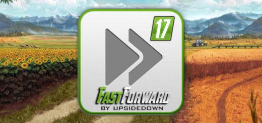 Мод FS17 TIME FAST FORWARD V2.1 Farming Simulator 2017