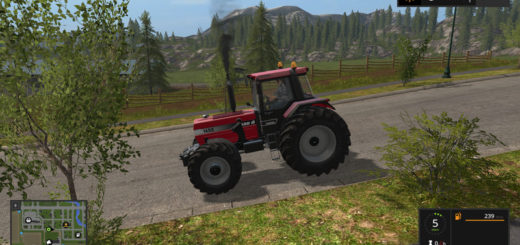 Мод трактор CASE IH 1455 Farming Simulator 17
