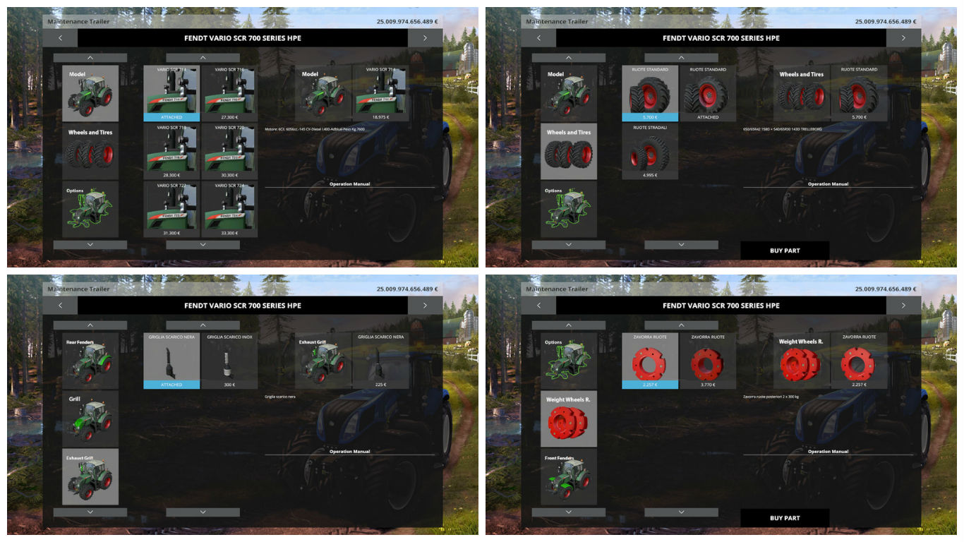 Мод Fendt 700 Vario SCR SERIES Harpoint Extension V 4RC4_HPE MOD Farming Simulator 2015